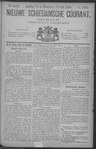 Nieuwe Schiedamsche Courant 1886-07-19
