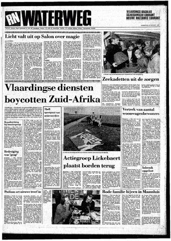 Rotterdamsch Nieuwsblad / Schiedamsche Courant / Rotterdams Dagblad / Waterweg / Algemeen Dagblad 1987-03-23