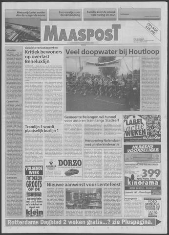 Maaspost / Maasstad / Maasstad Pers 1995-09-27