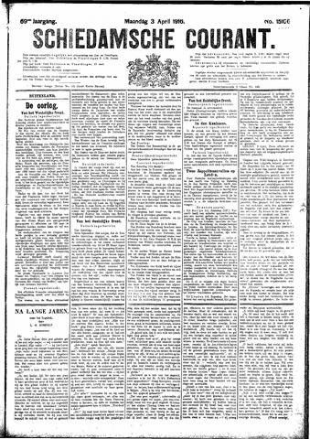 Schiedamsche Courant 1916-04-03