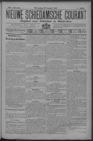 Nieuwe Schiedamsche Courant 1913-01-29