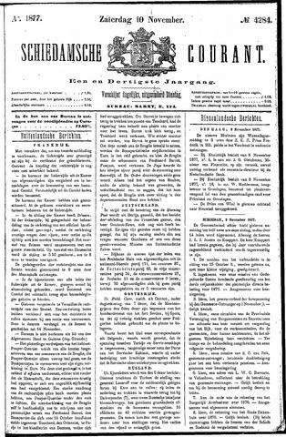 Schiedamsche Courant 1877-11-10