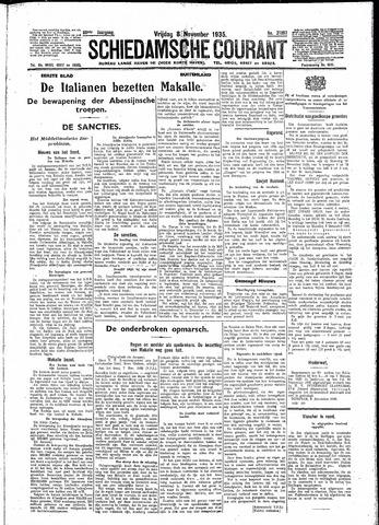 Schiedamsche Courant 1935-11-08