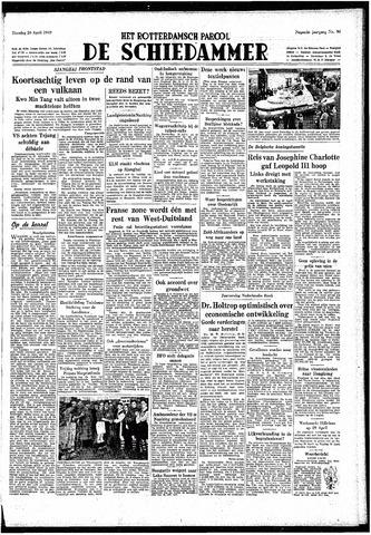 Rotterdamsch Parool / De Schiedammer 1949-04-26