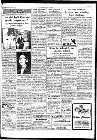Rotterdamsch Nieuwsblad / Schiedamsche Courant / Rotterdams Dagblad / Waterweg / Algemeen Dagblad 1959-11-02