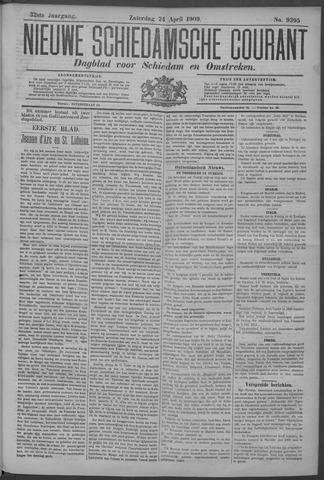 Nieuwe Schiedamsche Courant 1909-04-24