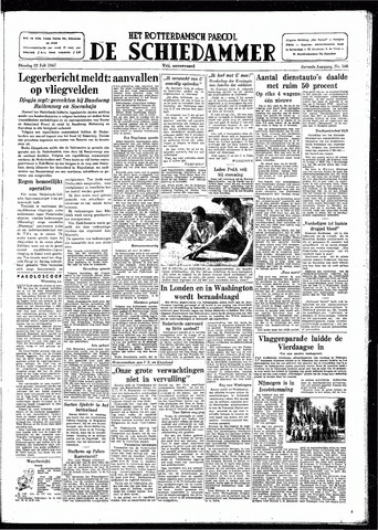 Rotterdamsch Parool / De Schiedammer 1947-07-22