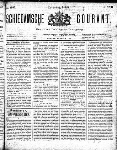 Schiedamsche Courant 1883-07-07