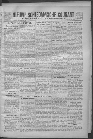 Nieuwe Schiedamsche Courant 1945-08-28