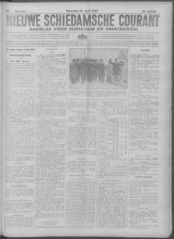 Nieuwe Schiedamsche Courant 1929-04-22