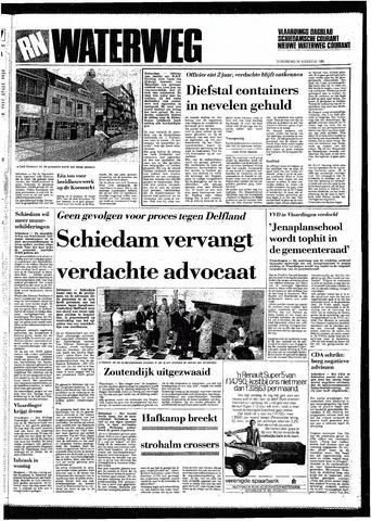 Rotterdamsch Nieuwsblad / Schiedamsche Courant / Rotterdams Dagblad / Waterweg / Algemeen Dagblad 1985-08-29