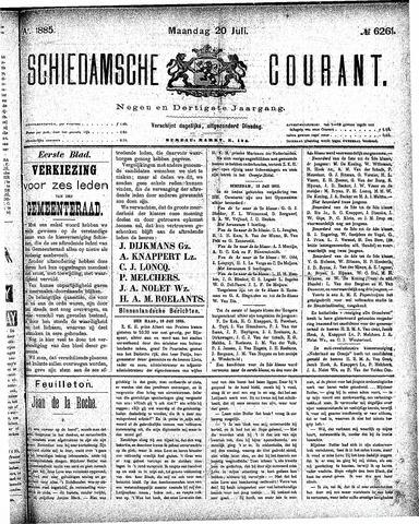 Schiedamsche Courant 1885-07-20