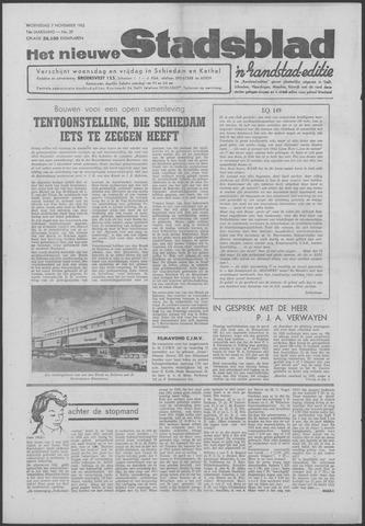 Het Nieuwe Stadsblad 1962-11-07