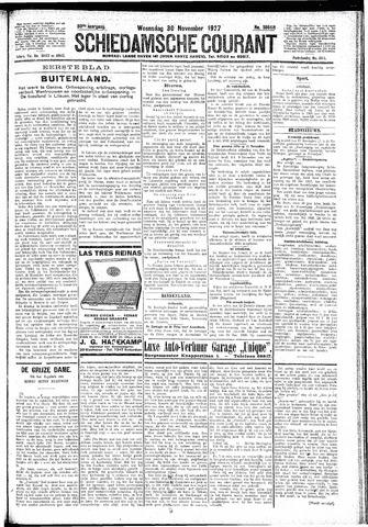 Schiedamsche Courant 1927-11-30