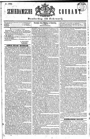 Schiedamsche Courant 1862-02-13