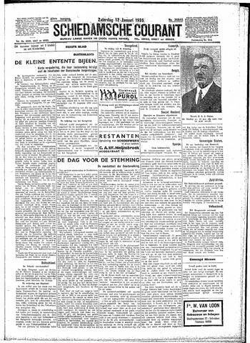 Schiedamsche Courant 1935-01-12