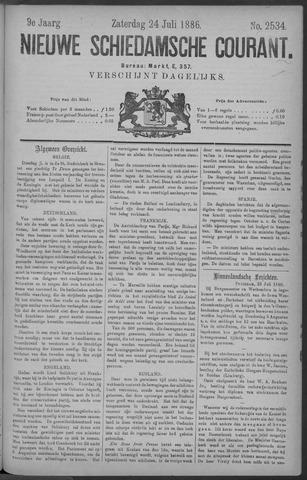 Nieuwe Schiedamsche Courant 1886-07-24