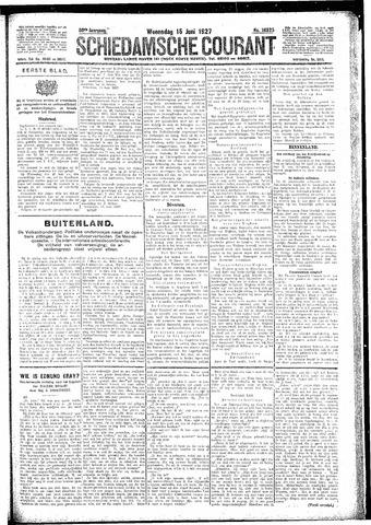Schiedamsche Courant 1927-06-15