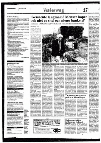 Rotterdamsch Nieuwsblad / Schiedamsche Courant / Rotterdams Dagblad / Waterweg / Algemeen Dagblad 1993-04-28