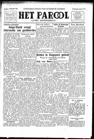Rotterdamsch Parool / De Schiedammer 1945-09-04