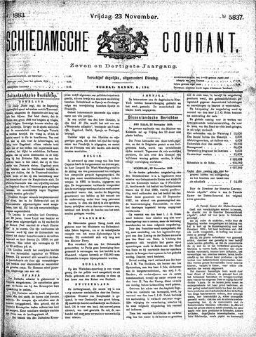 Schiedamsche Courant 1883-11-23
