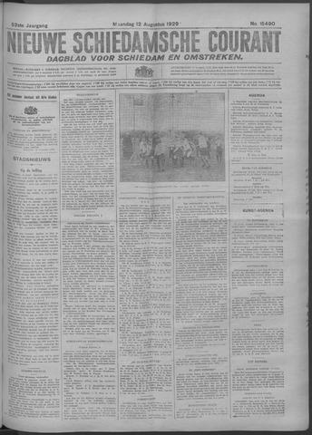Nieuwe Schiedamsche Courant 1929-08-12