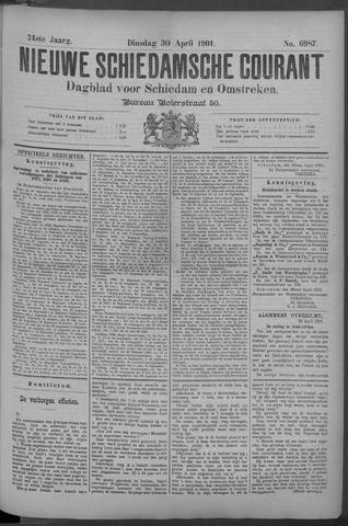 Nieuwe Schiedamsche Courant 1901-04-30