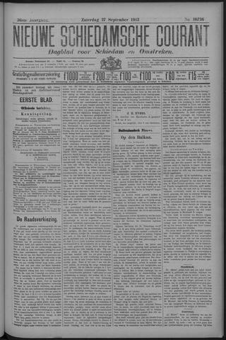 Nieuwe Schiedamsche Courant 1913-09-27