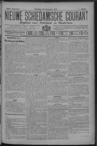 Nieuwe Schiedamsche Courant 1913-02-25