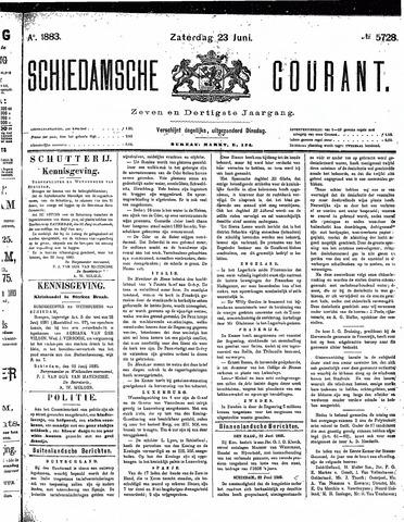 Schiedamsche Courant 1883-06-23