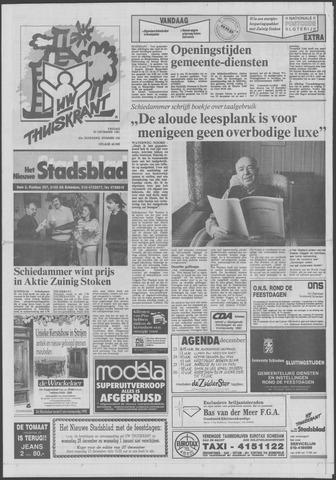 Het Nieuwe Stadsblad 1991-12-20