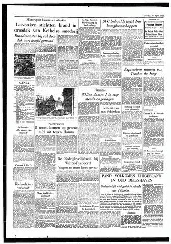 Rotterdamsch Parool / De Schiedammer 1955-04-26