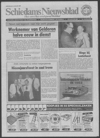 Schiedams Nieuwsblad 1983