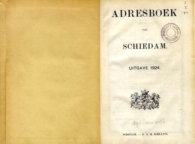 Adresboeken 1924-01-01