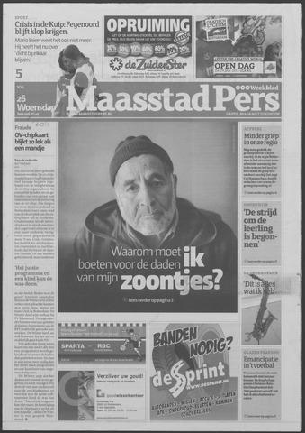 Maaspost / Maasstad / Maasstad Pers 2011-01-26