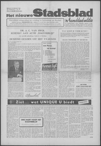 Het Nieuwe Stadsblad 1963-02-22