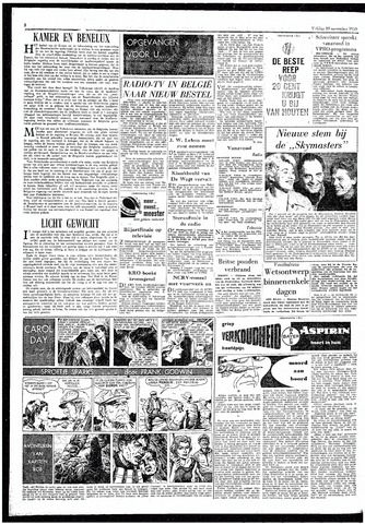 Rotterdamsch Parool / De Schiedammer 1959-11-20
