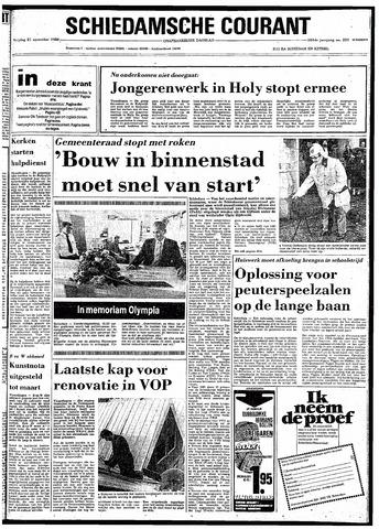Rotterdamsch Nieuwsblad / Schiedamsche Courant / Rotterdams Dagblad / Waterweg / Algemeen Dagblad 1980-11-21
