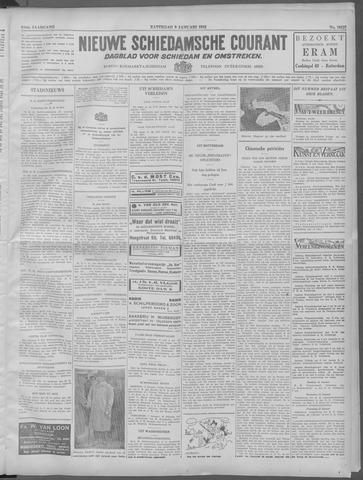 Nieuwe Schiedamsche Courant 1932-01-09