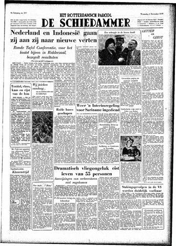 Rotterdamsch Parool / De Schiedammer 1949-11-02