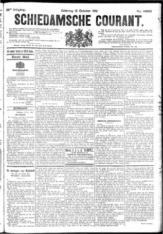 Schiedamsche Courant 1912-10-12