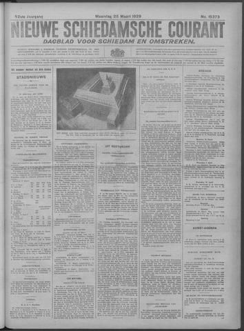 Nieuwe Schiedamsche Courant 1929-03-25