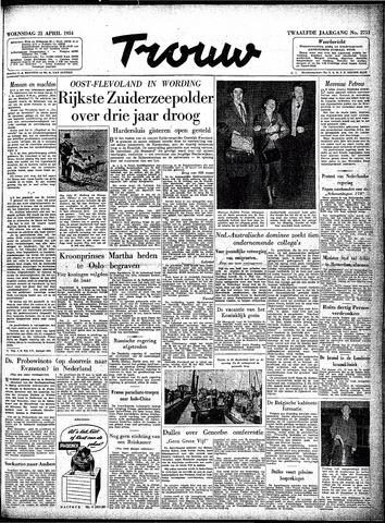 Trouw / De Rotterdammer 1954-04-21