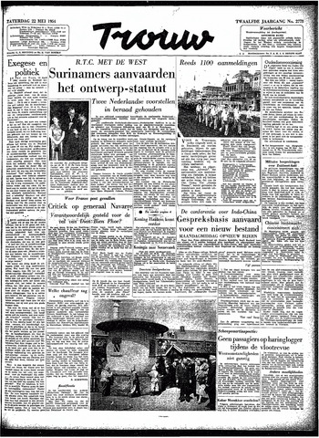 Trouw / De Rotterdammer 1954-05-22