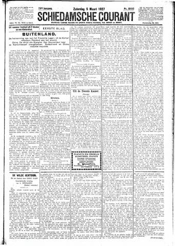 Schiedamsche Courant 1927-03-05