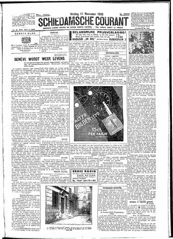 Schiedamsche Courant 1933-11-17