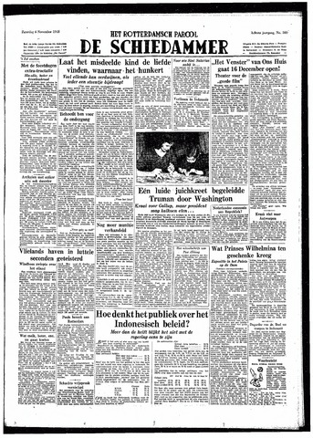 Rotterdamsch Parool / De Schiedammer 1948-11-06