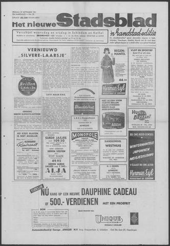 Het Nieuwe Stadsblad 1961-09-29