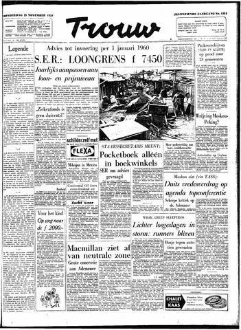 Trouw / De Rotterdammer 1959-11-19