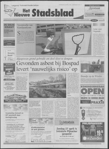 Het Nieuwe Stadsblad 2003-04-23